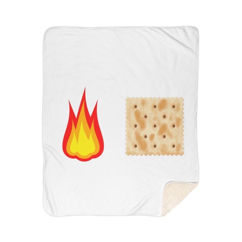 Fire Cracker Home Sherpa Blanket Blanket by OR designs