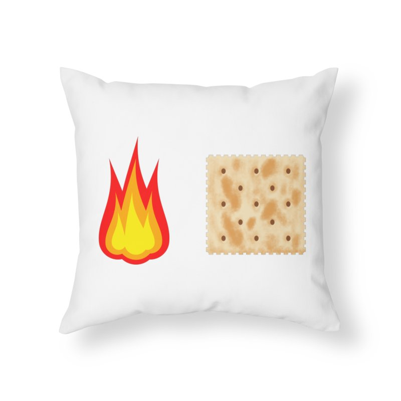 Fire Cracker Home Throw Pillow by OR designs