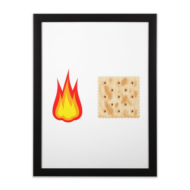 Fire Cracker Home Framed Fine Art Print by OR designs