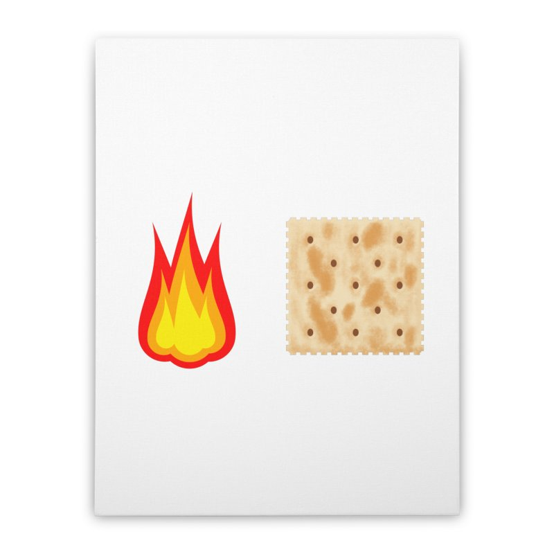 Fire Cracker Home Stretched Canvas by OR designs