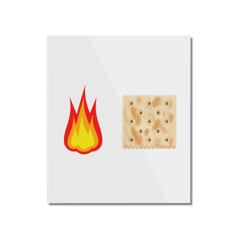 Fire Cracker Home Mounted Acrylic Print by OR designs