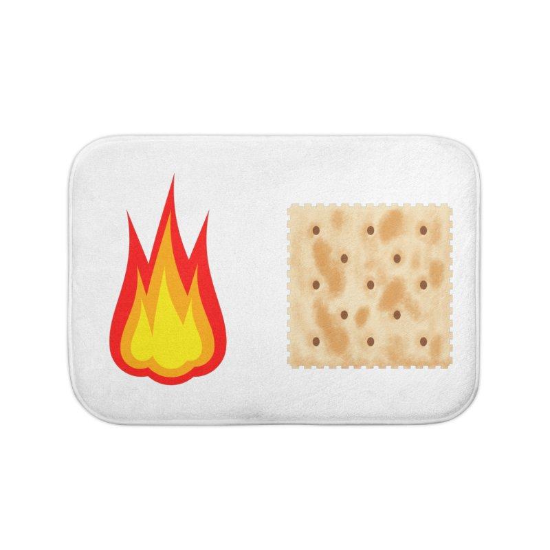 Fire Cracker Home Bath Mat by OR designs