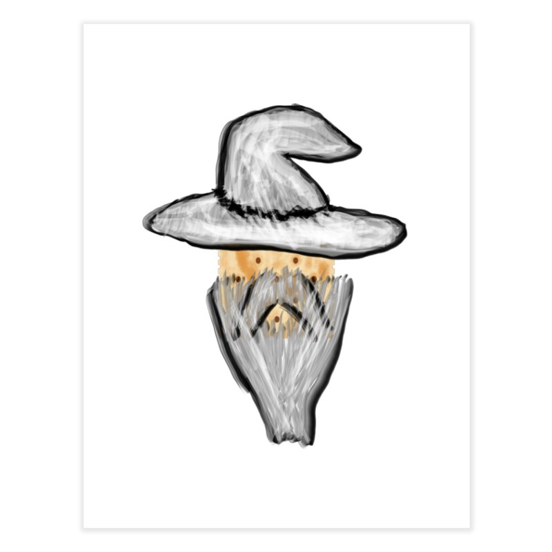 Wise Cracker Home Fine Art Print by OR designs