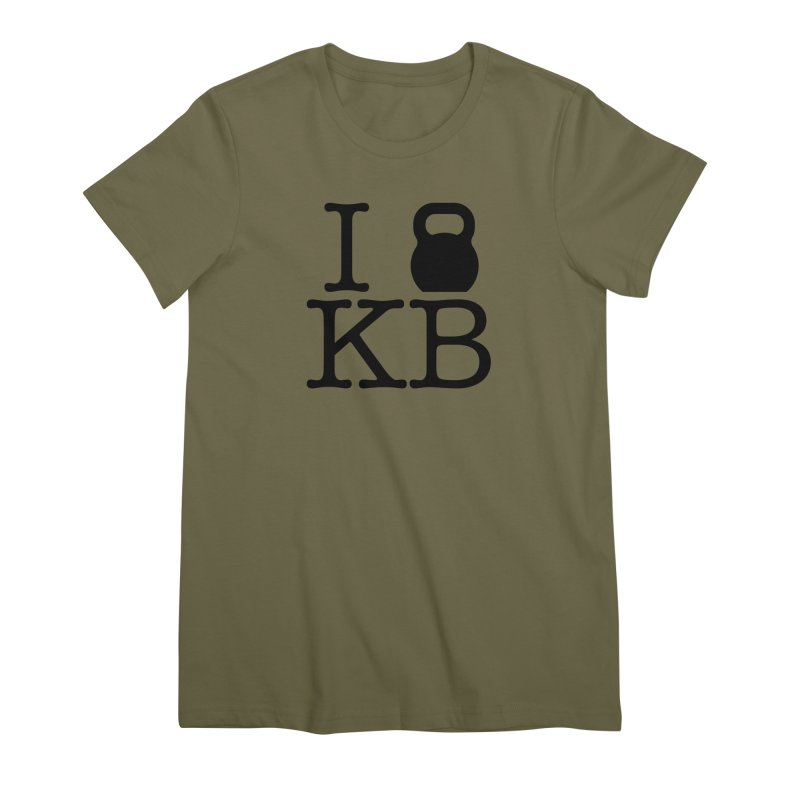 Do you KettleBell KB? Women's Premium T-Shirt by OR designs