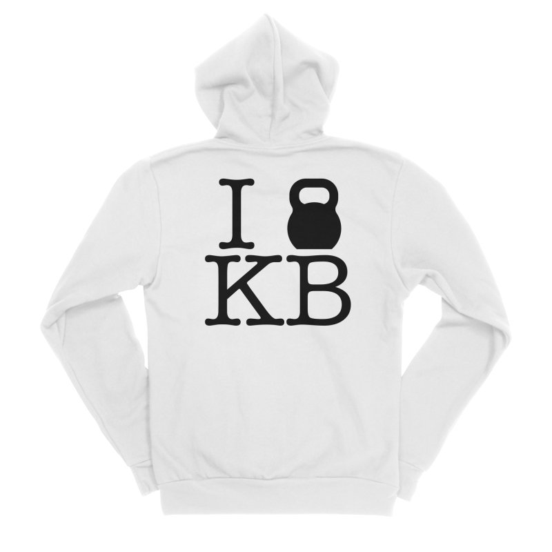 Do you KettleBell KB? Women's Sponge Fleece Zip-Up Hoody by OR designs