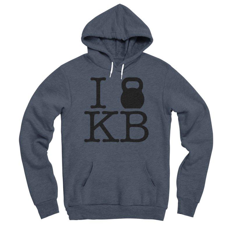 Do you KettleBell KB? Men's Sponge Fleece Pullover Hoody by OR designs