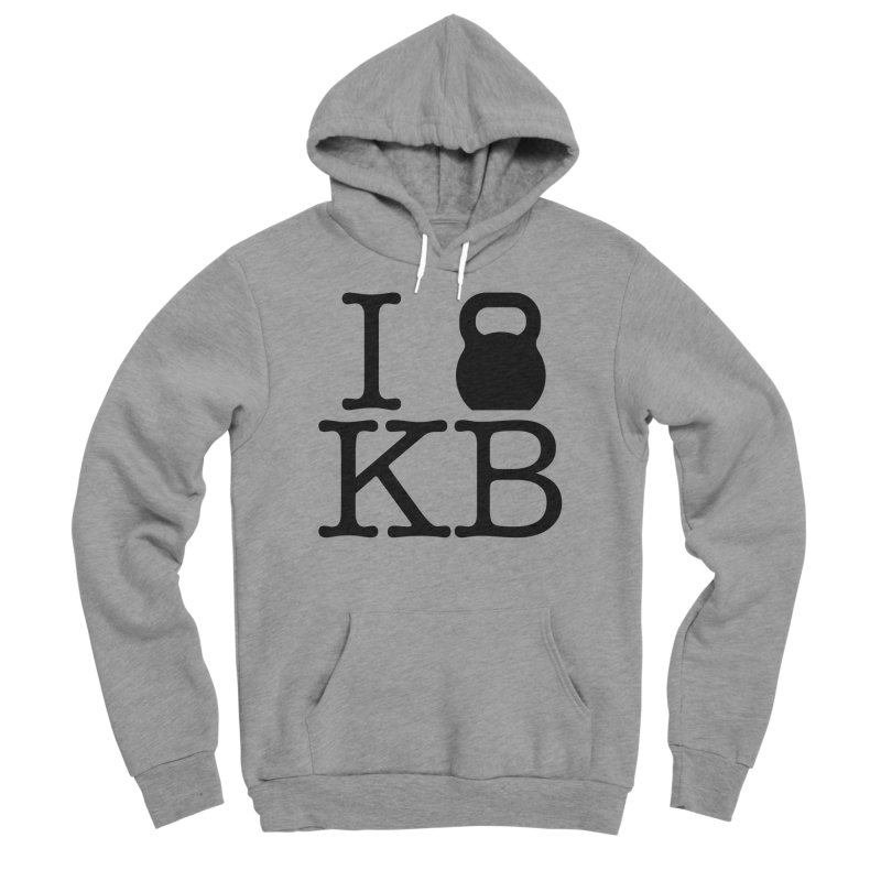 Do you KettleBell KB? Women's Sponge Fleece Pullover Hoody by OR designs