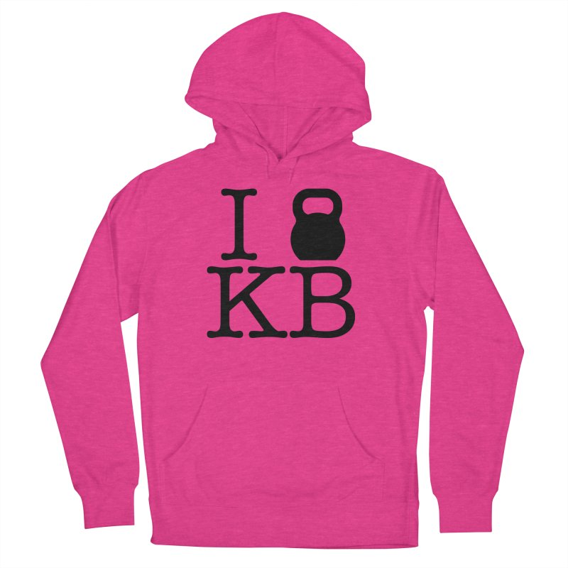 Do you KettleBell KB? Women's French Terry Pullover Hoody by OR designs