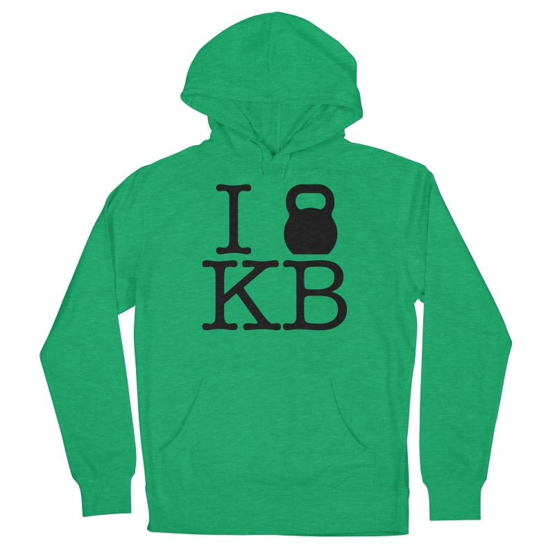 Do you KettleBell KB? Men's French Terry Pullover Hoody by OR designs