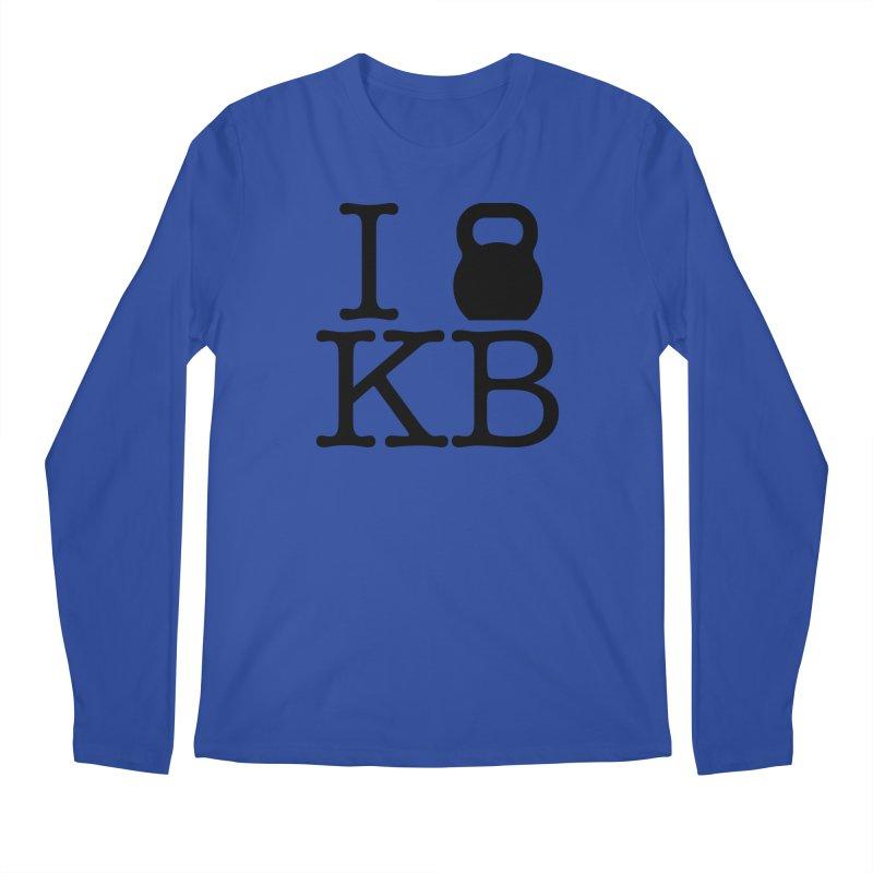 Do you KettleBell KB? Men's Regular Longsleeve T-Shirt by OR designs