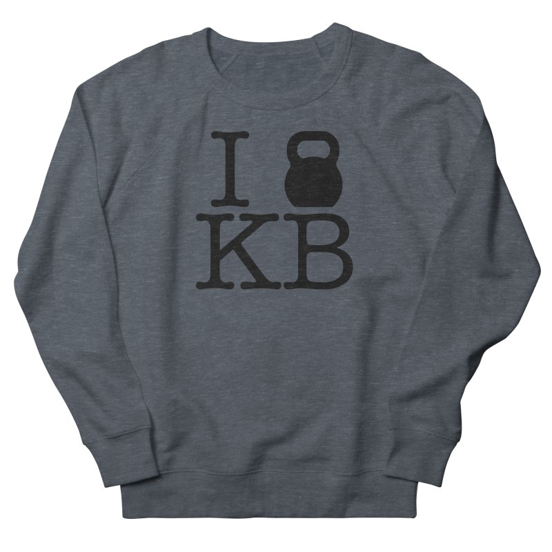 Do you KettleBell KB? Men's French Terry Sweatshirt by OR designs