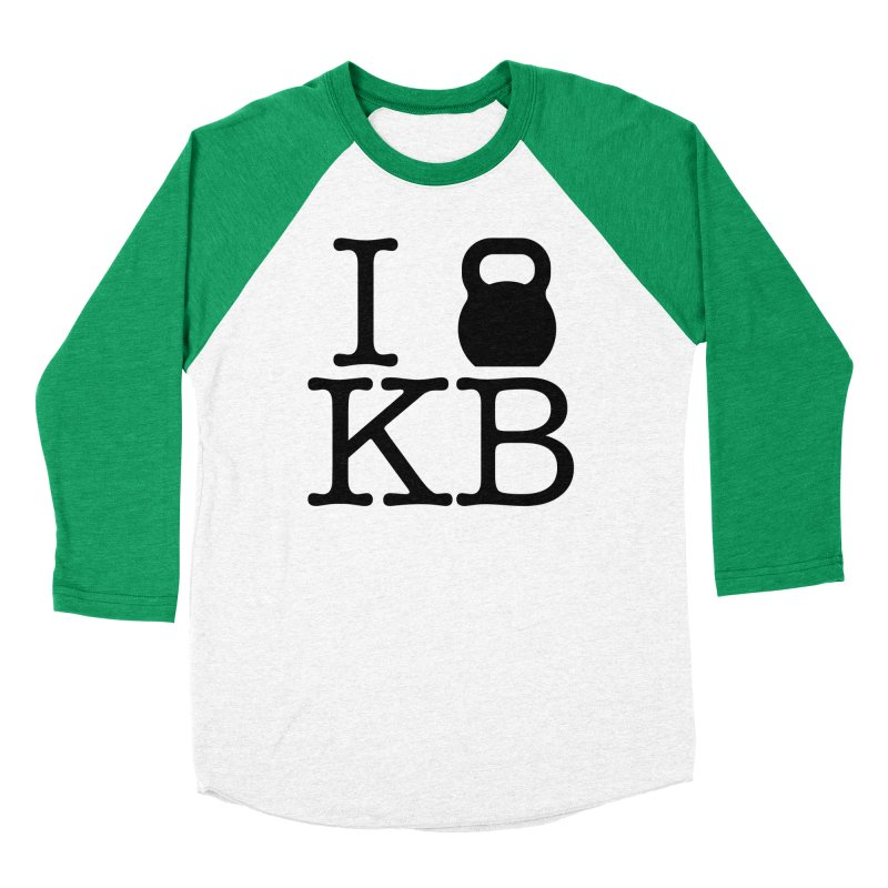 Do you KettleBell KB? Women's Baseball Triblend Longsleeve T-Shirt by OR designs