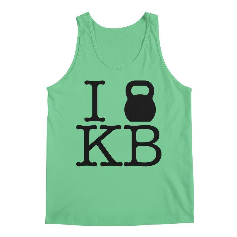 Do you KettleBell KB? Men's Regular Tank by OR designs