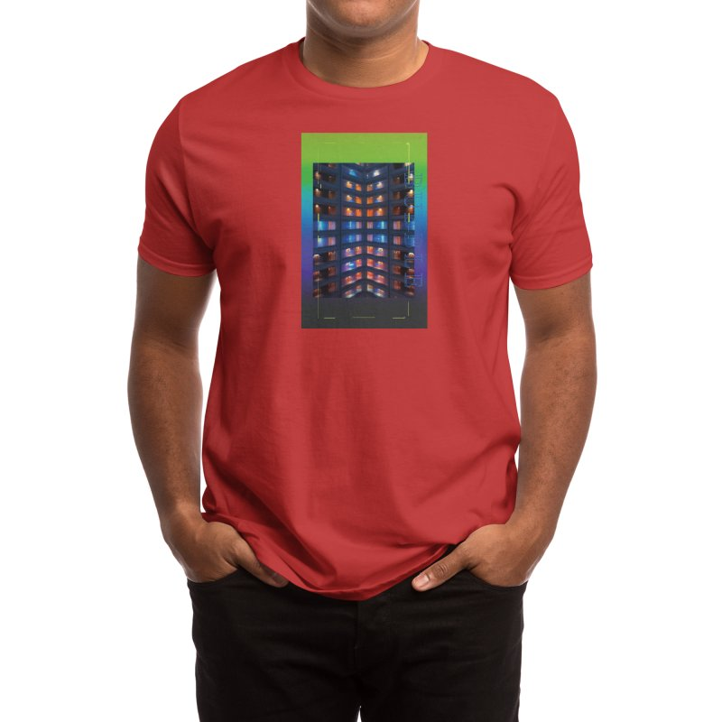 bubble Men's T-Shirt by overlordlab