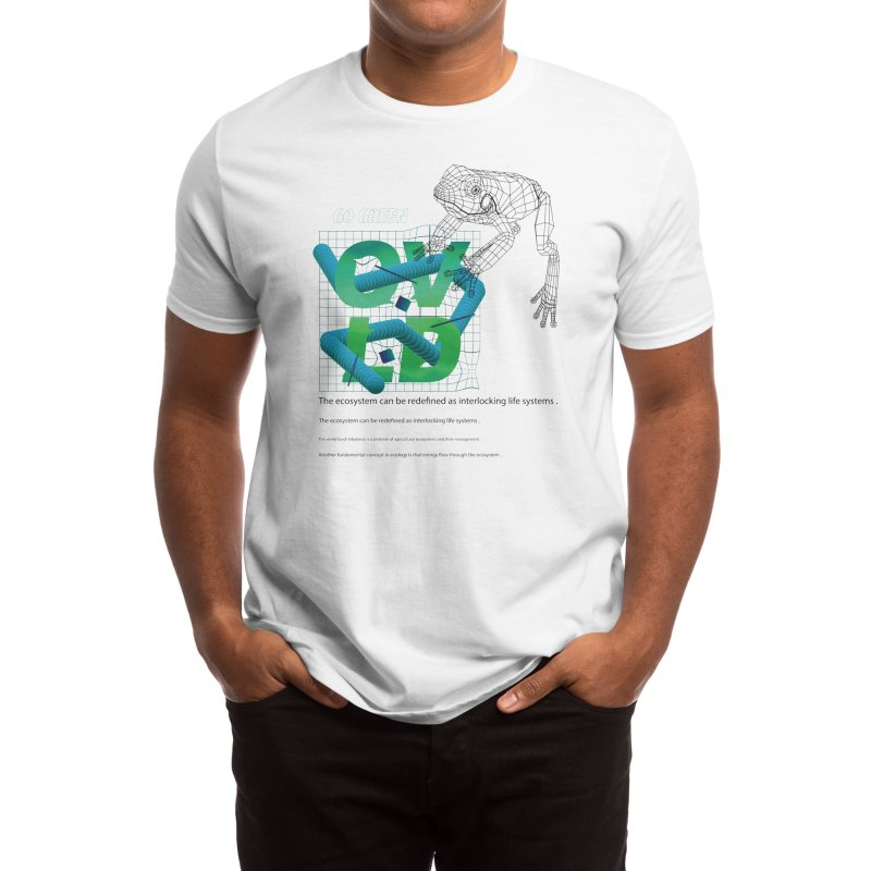 go green Men's T-Shirt by overlordlab