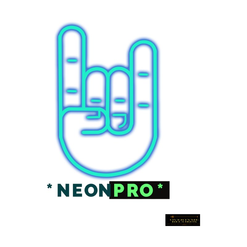NEON PRO Men's T-Shirt by OVERTYME RECORDS INC.