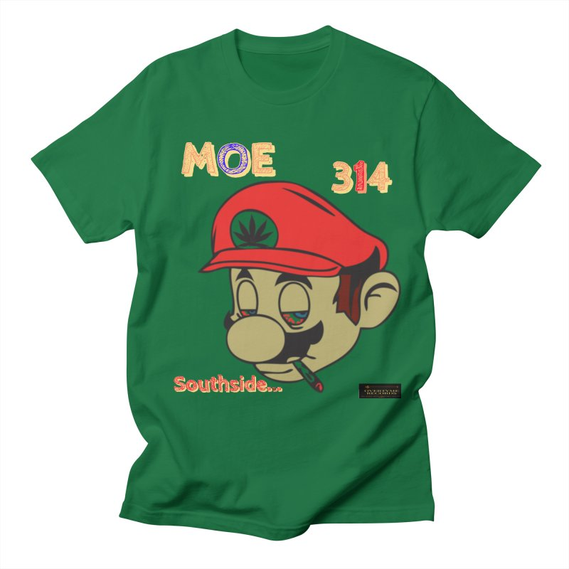 Moe314 Men's T-Shirt by OVERTYME RECORDS INC.