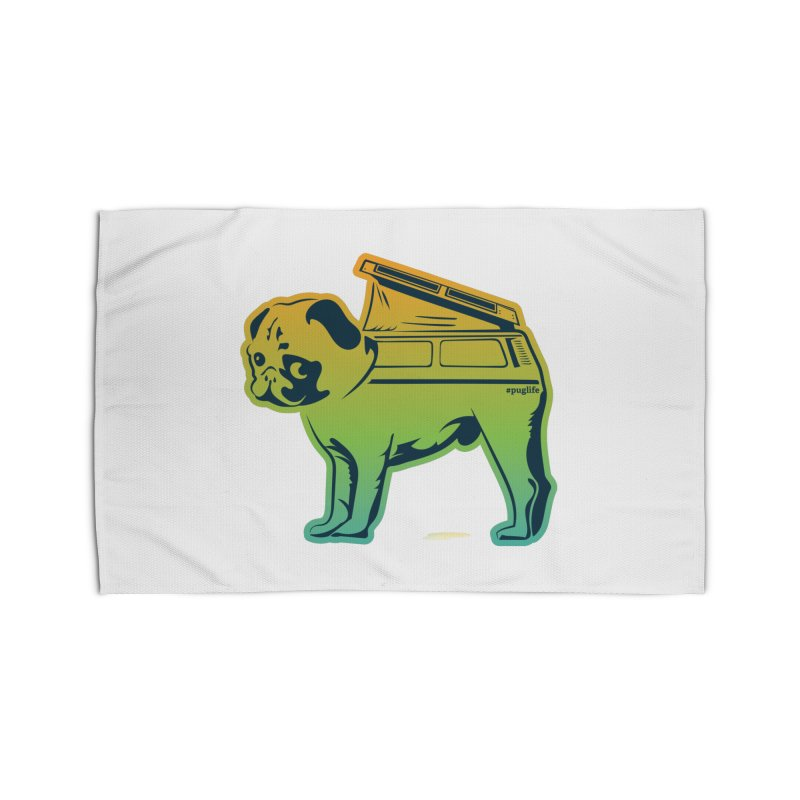 Special Edition Rainbow #puglife Home Rug by Ovid Nine Creative Lab signature shirts