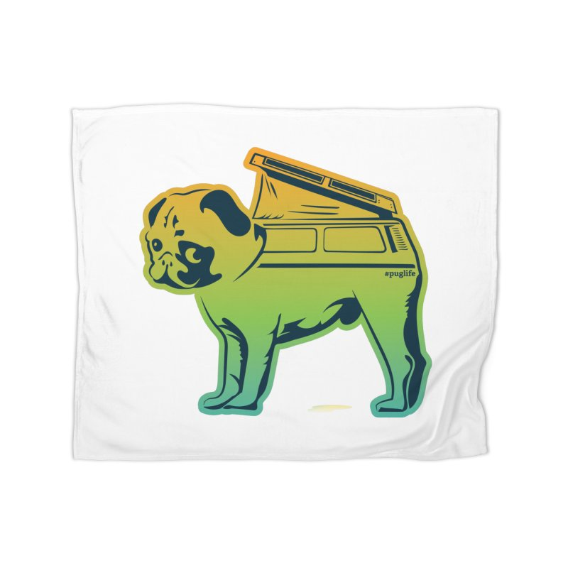 Special Edition Rainbow #puglife Home Blanket by Ovid Nine Creative Lab signature shirts