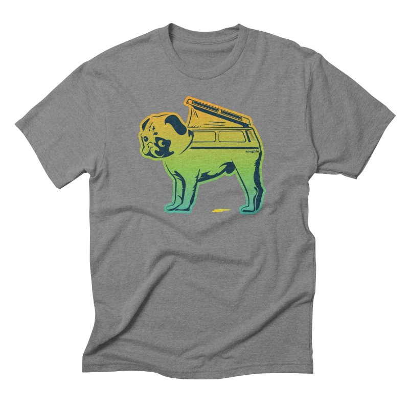 Special Edition Rainbow #puglife Men's Triblend T-Shirt by Ovid Nine Creative Lab signature shirts