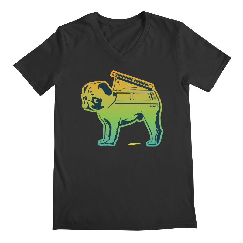 Special Edition Rainbow #puglife Men's  by Ovid Nine Creative Lab signature shirts