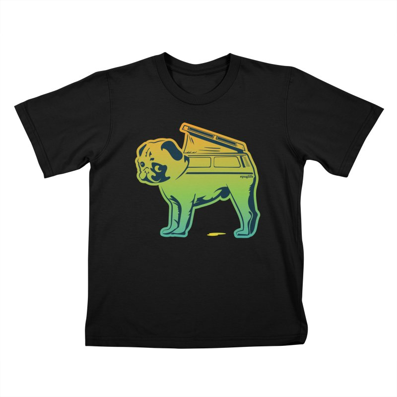 Special Edition Rainbow #puglife Kids T-Shirt by Ovid Nine Creative Lab signature shirts