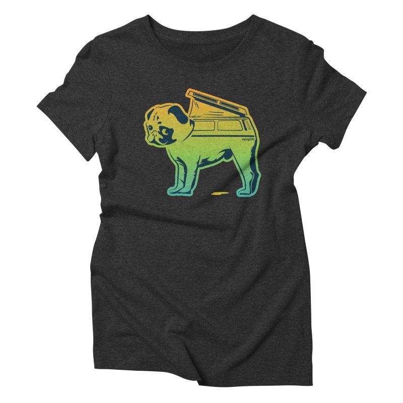 Special Edition Rainbow #puglife Women's  by Ovid Nine Creative Lab signature shirts