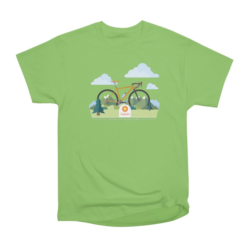 Pancake Ride Shirt Men's Heavyweight T-Shirt by Ovid Nine Creative Lab signature shirts