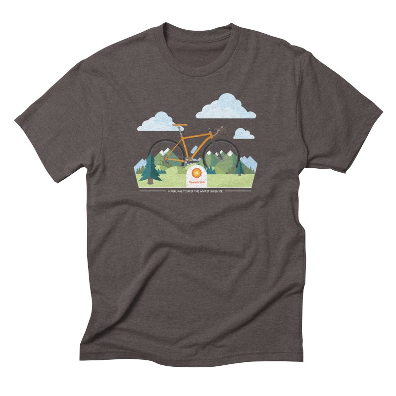 Pancake Ride Shirt Men's Triblend T-Shirt by Ovid Nine Creative Lab signature shirts