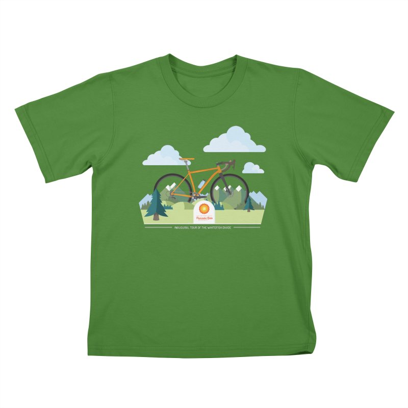 Pancake Ride Shirt Kids T-Shirt by Ovid Nine Creative Lab signature shirts