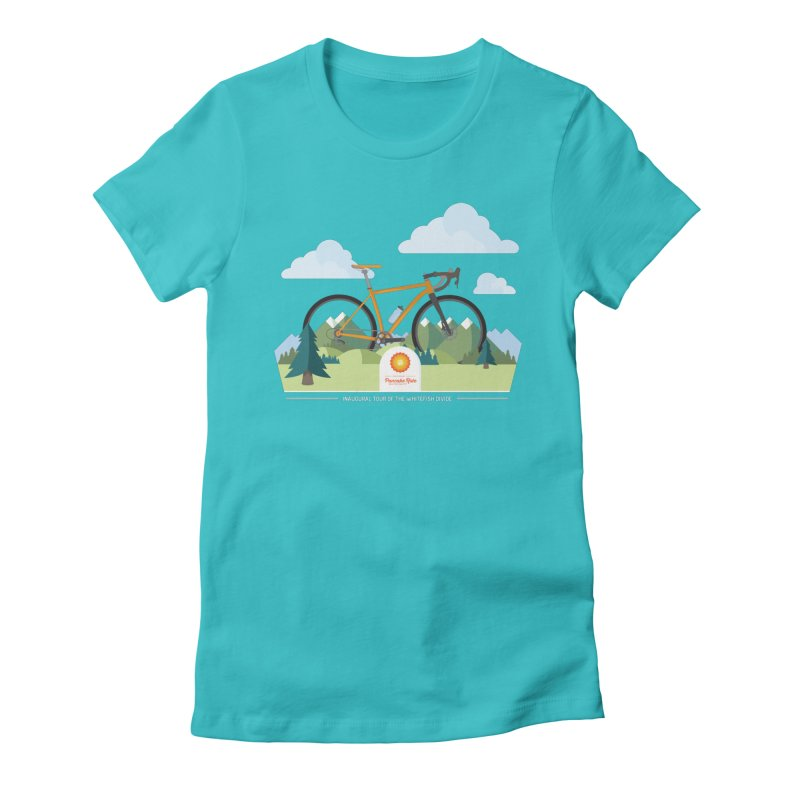Pancake Ride Shirt Women's Fitted T-Shirt by Ovid Nine Creative Lab signature shirts
