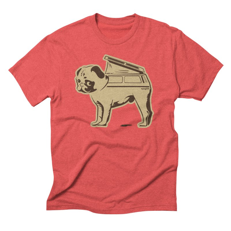#puglife Men's Triblend T-shirt by Ovid Nine Creative Lab signature shirts