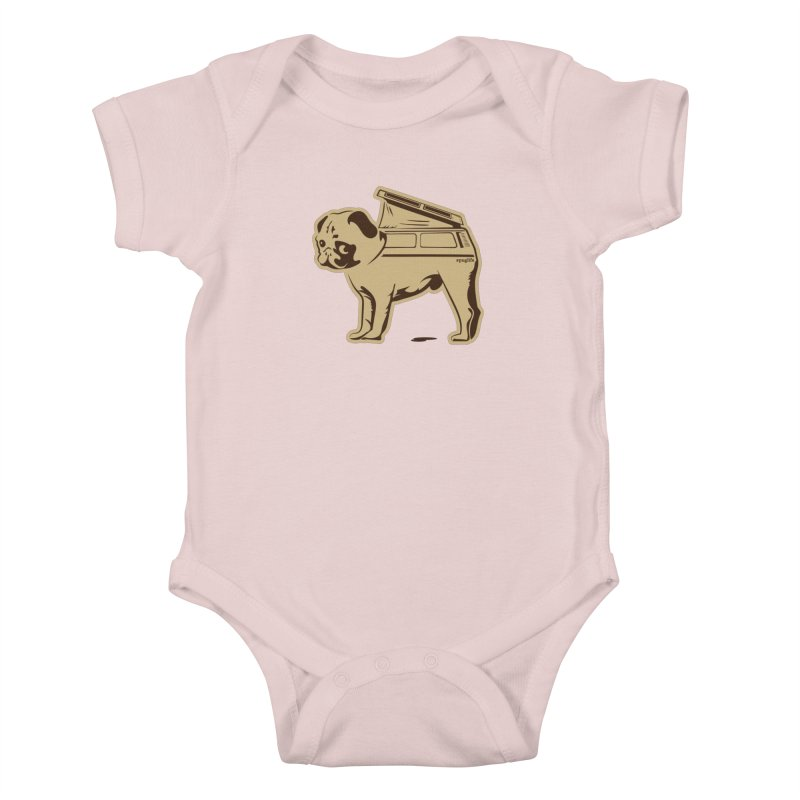 #puglife Kids Baby Bodysuit by Ovid Nine Creative Lab signature shirts