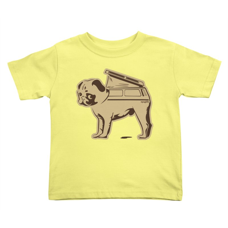 #puglife Kids Toddler T-Shirt by Ovid Nine Creative Lab signature shirts