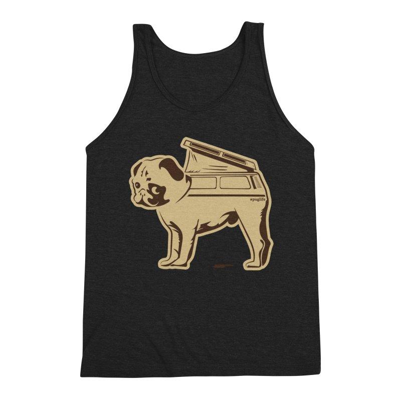#puglife Men's Tank by Ovid Nine Creative Lab signature shirts