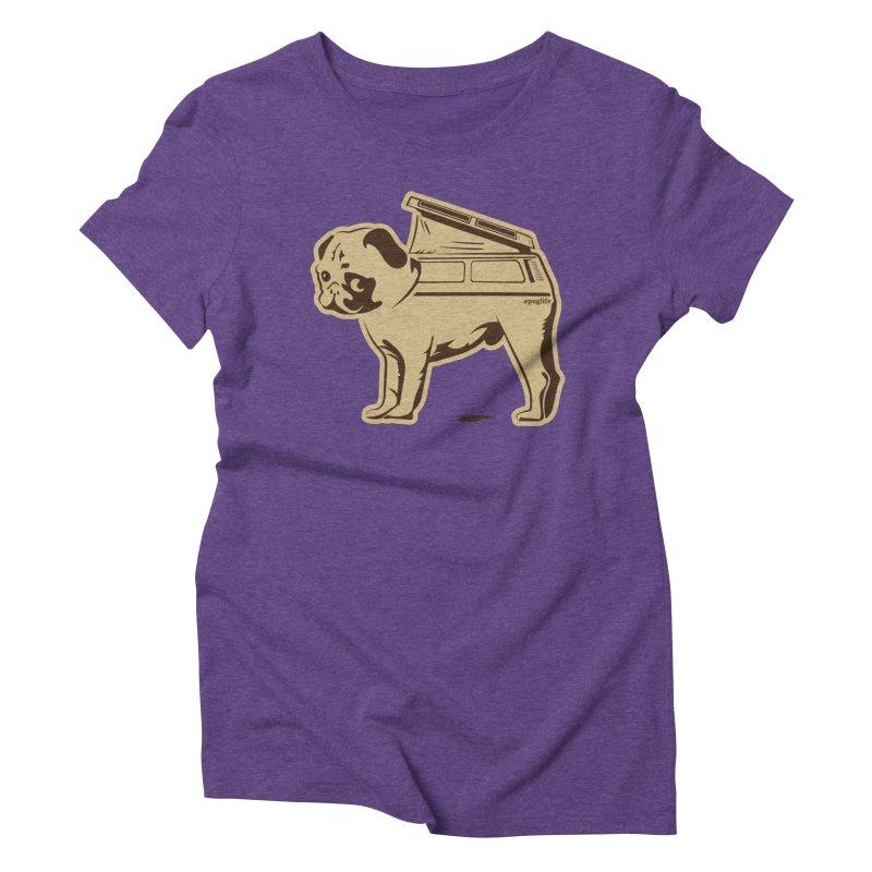 #puglife Women's T-Shirt by Ovid Nine Creative Lab signature shirts