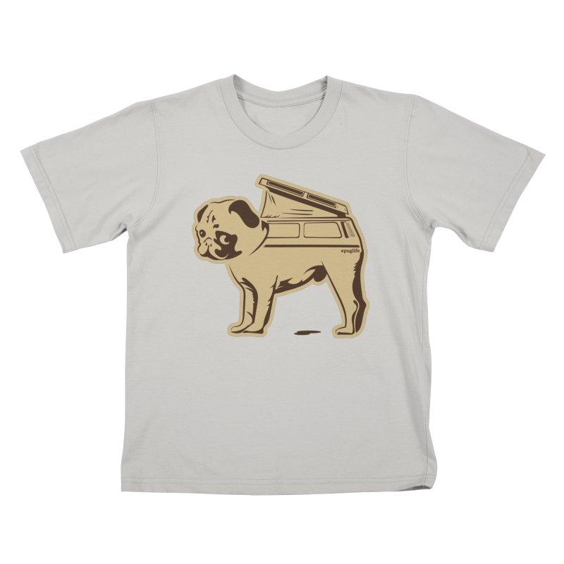 #puglife Kids T-Shirt by Ovid Nine Creative Lab signature shirts