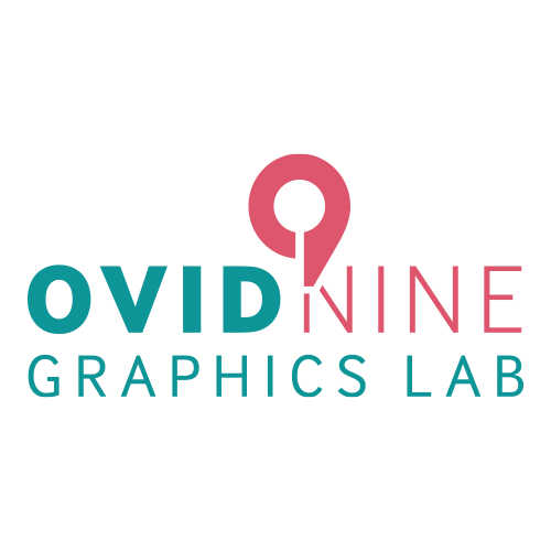 Ovid Nine Creative Lab signature shirts Logo