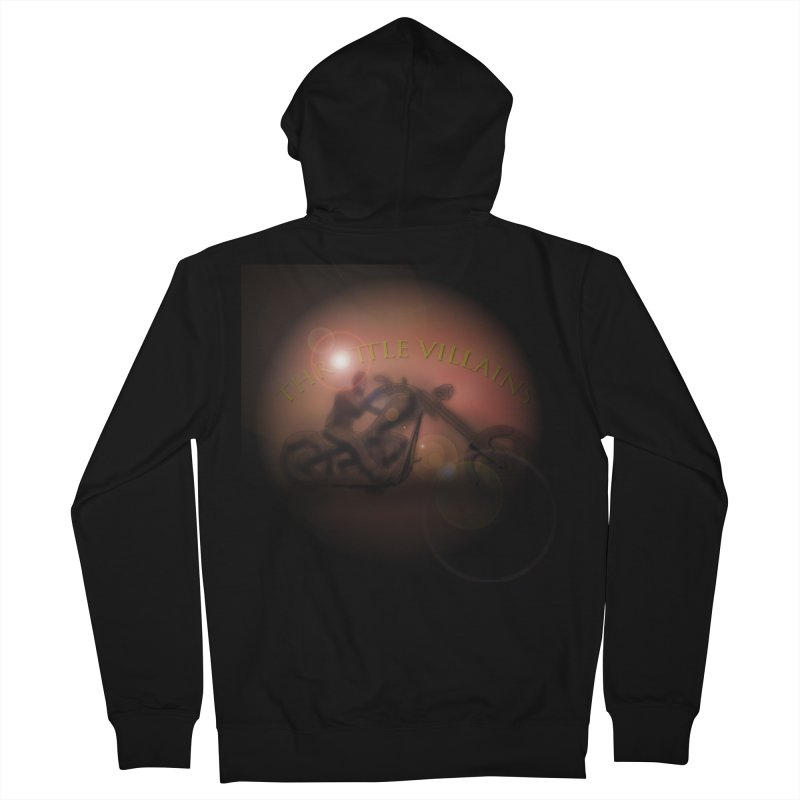 Throttle Villains Women's French Terry Zip-Up Hoody by owenmaidstone's Artist Shop