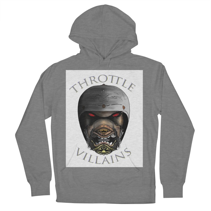 Throttle Villains Leo Men's French Terry Pullover Hoody by owenmaidstone's Artist Shop