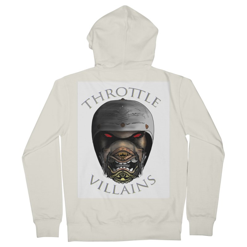 Throttle Villains Leo Men's French Terry Zip-Up Hoody by owenmaidstone's Artist Shop