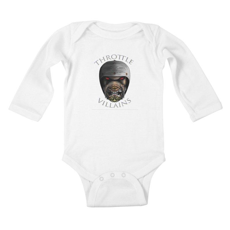 Throttle Villains Leo Kids Baby Longsleeve Bodysuit by owenmaidstone's Artist Shop