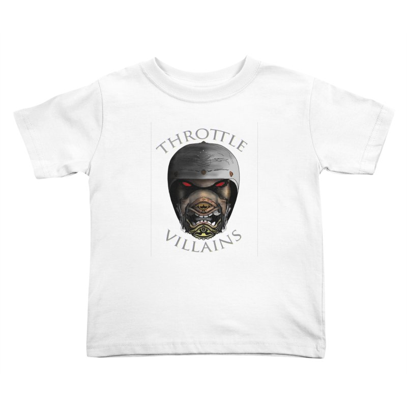 Throttle Villains Leo Kids Toddler T-Shirt by owenmaidstone's Artist Shop