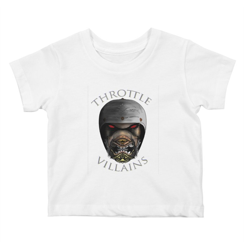 Throttle Villains Leo Kids Baby T-Shirt by owenmaidstone's Artist Shop