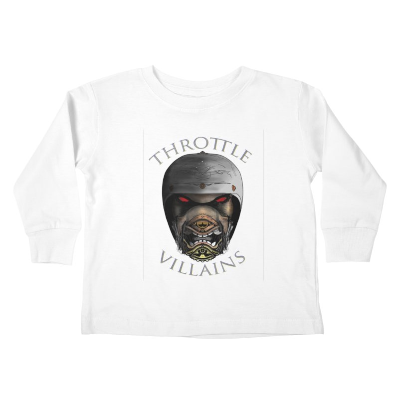 Throttle Villains Leo Kids Toddler Longsleeve T-Shirt by owenmaidstone's Artist Shop