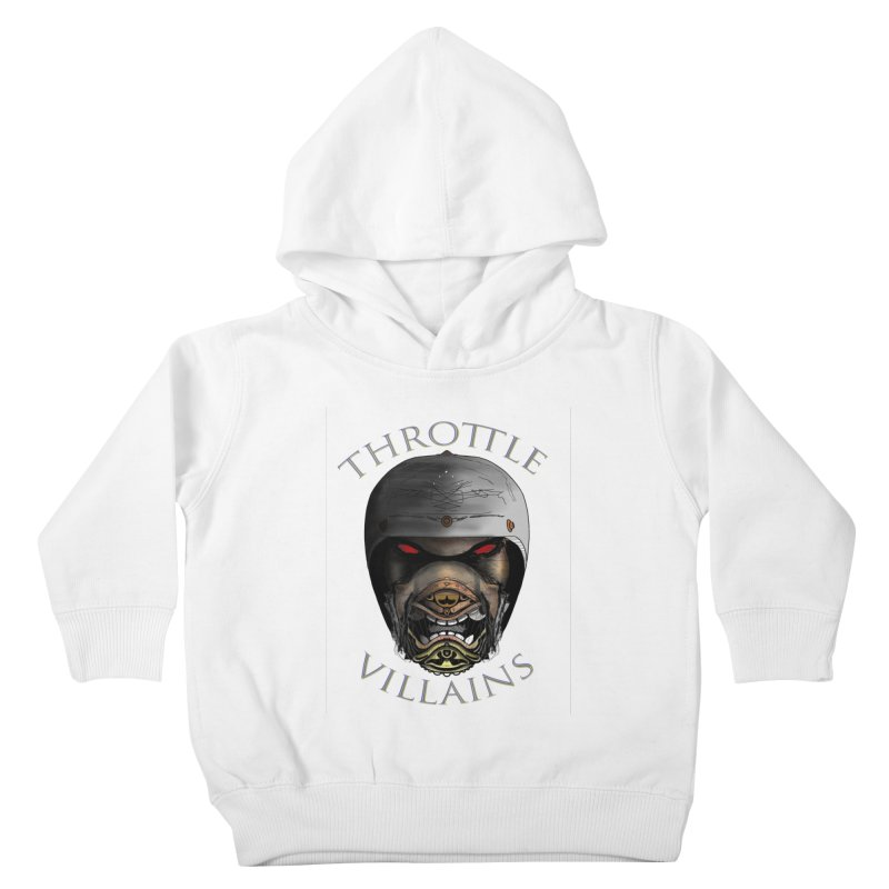 Throttle Villains Leo Kids Toddler Pullover Hoody by owenmaidstone's Artist Shop