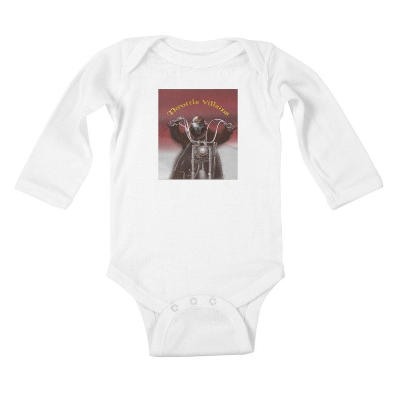 Green Eyes Kids Baby Longsleeve Bodysuit by owenmaidstone's Artist Shop