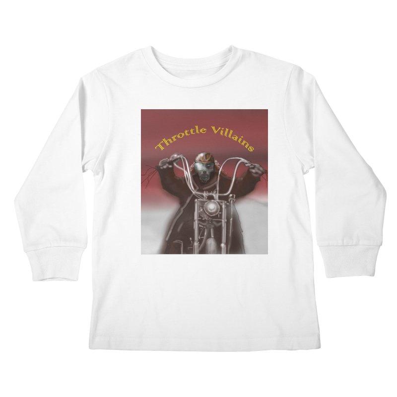 Green Eyes Kids Longsleeve T-Shirt by owenmaidstone's Artist Shop