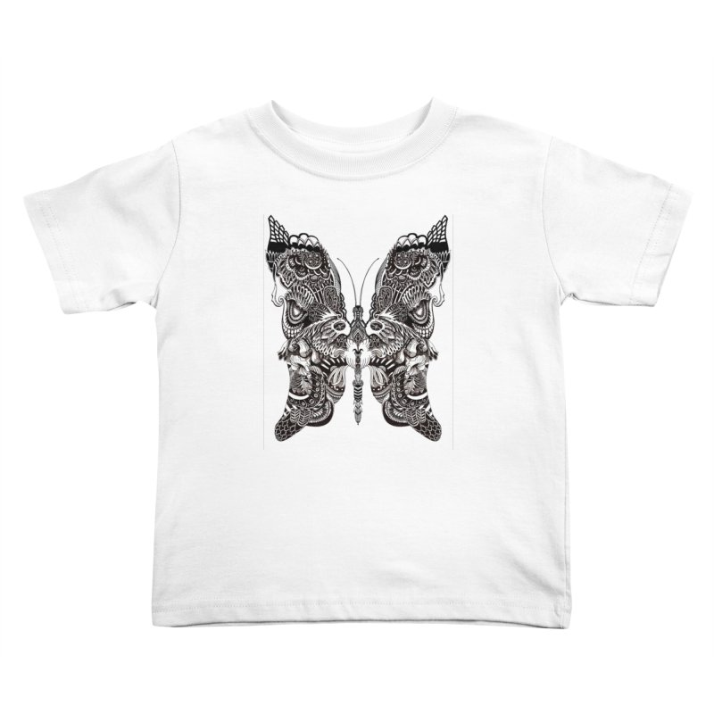 Butterfly Kids Toddler T-Shirt by owenmaidstone's Artist Shop