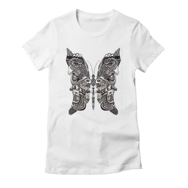 Butterfly Women's T-Shirt by owenmaidstone's Artist Shop